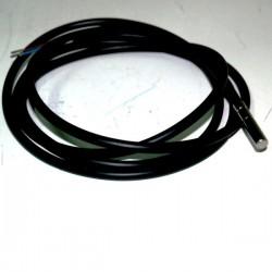 Sonda PTC inox., para temperatura -50º...+80ºC con cable PVC de 1,5 m