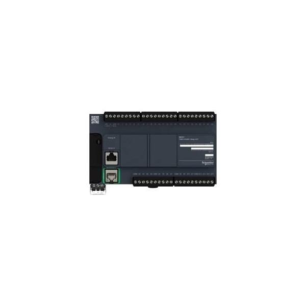PLC compacto M221 24ED - 2EA / 16S Relé Ethernet 240VAC