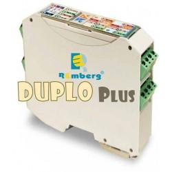 Duplicador - aislador de señal 0-4...20mA / 0...10V. Alimentación 24/230VUC