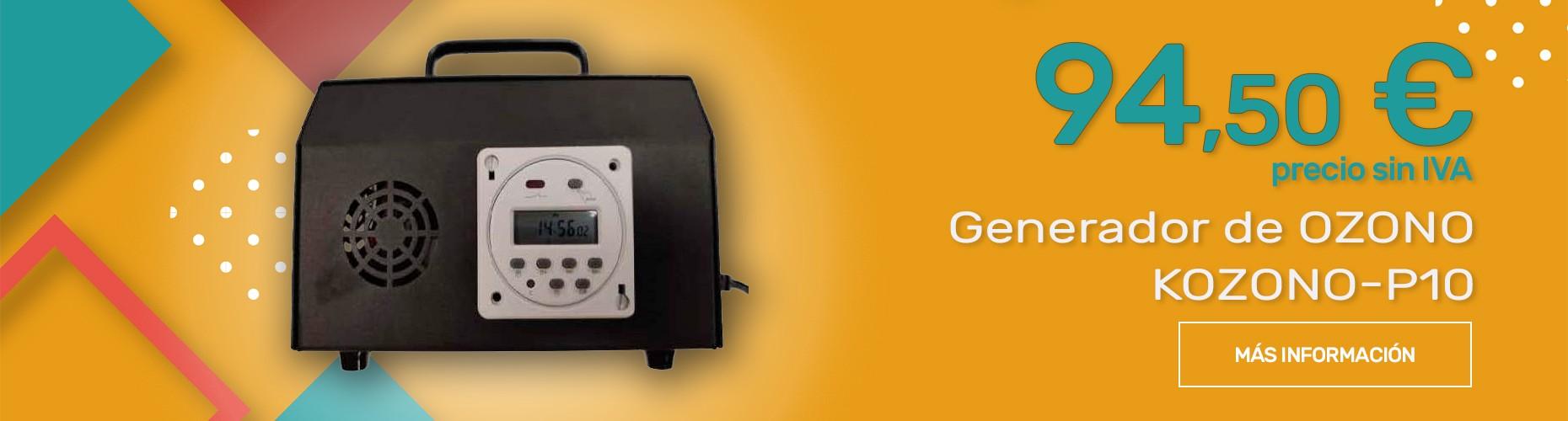 Generador de OZONO KONONO-P10